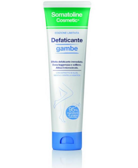 SOMATOLINE COSMETICS DEFATICANTE GAMBE 100 ML - Farmaci.me