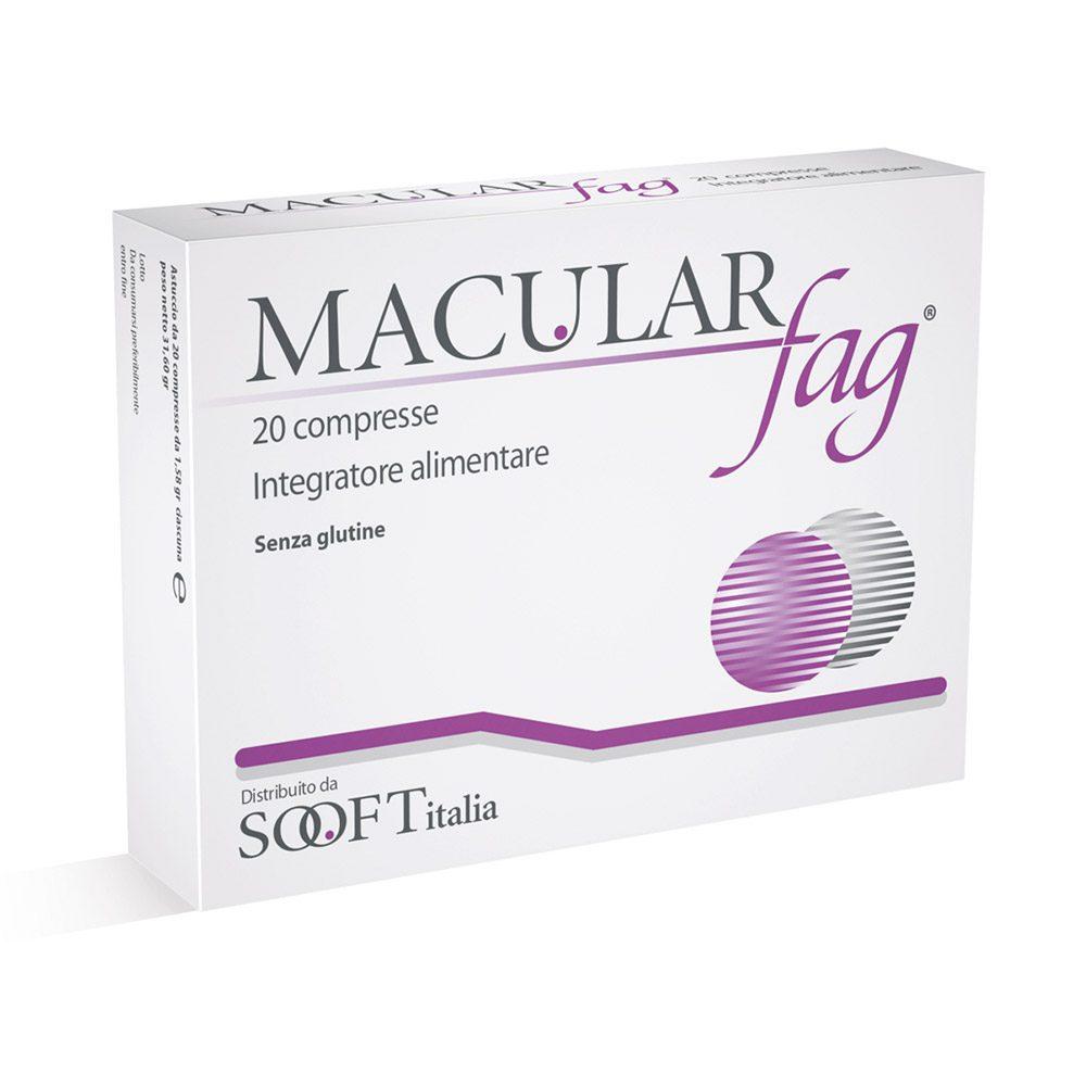 Sooft Macular Fag Integratore Alimentare 20 Compresse - Farmastar.it
