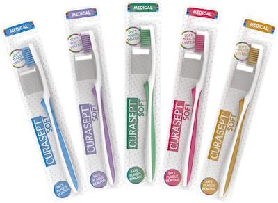 Spazzolino Curasept Soft Medical Colore Ocra 1 Pezzo offerta