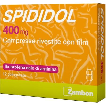 Spididol 400mg Ibuprofene 12 Compresse Rivestite - Zfarmacia