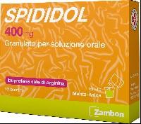 Spididol 400mg Granulato Per Soluzione Orale 12 Bustine Menta Anice - Farmacia 33