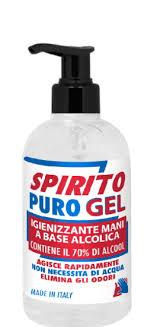SPIRITO PURO GEL IGIENIZZANTE MANI 500 ML - Farmaunclick.it