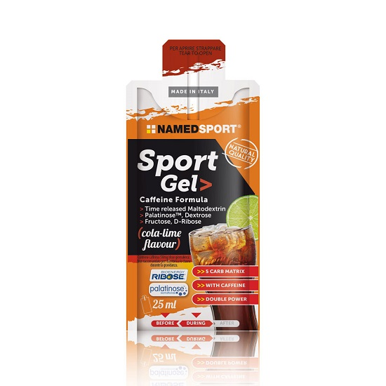 NAMEDSPORT GEL COLA-LIME 25 ML - Farmawing