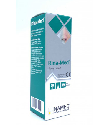 NAMED RINA-MED SPRAY NASALE 20 ML - Farmastar.it