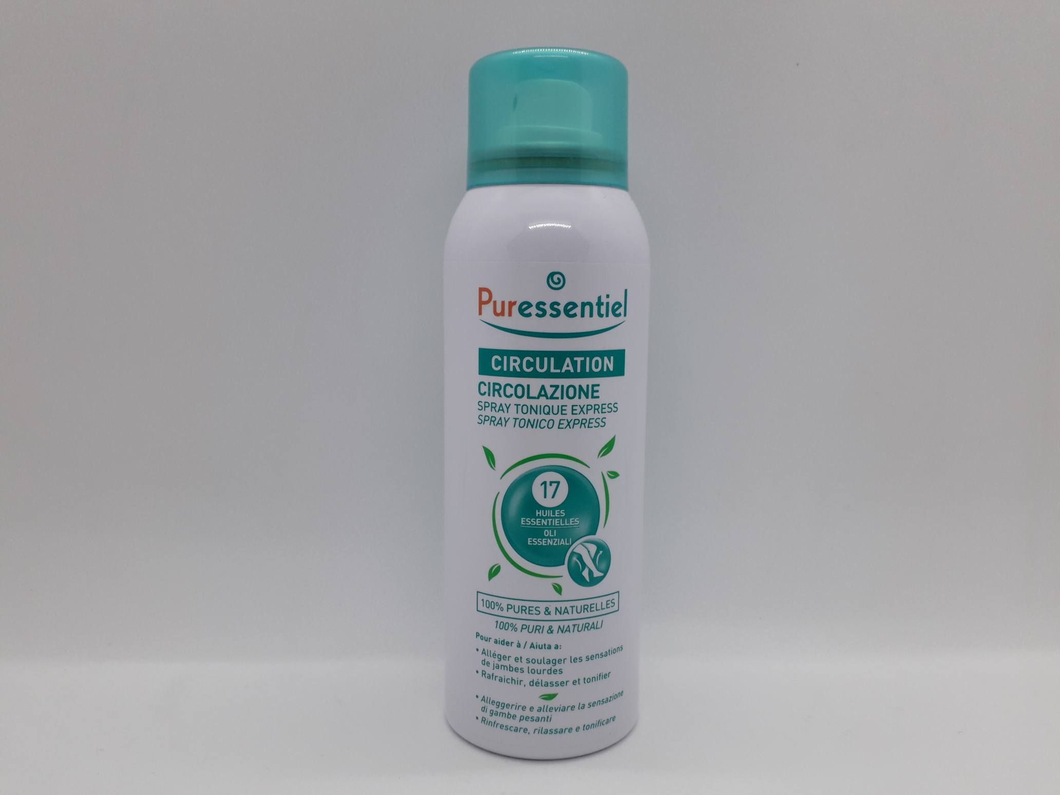 PURESSENTIEL SPRAY TONICO EXPRESS CIRCOLAZIONE 100 ML - Farmaciaempatica.it