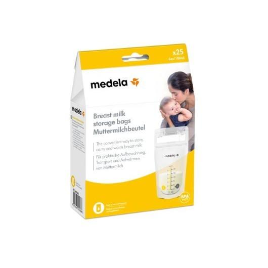 Storage Bags Sacca Per la Conservazione del Latte Materno 25 Pezzi - latuafarmaciaonline.it