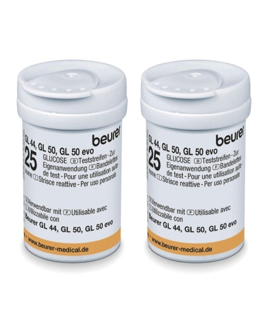 Strisce reattive di Beurer - GL 44/50/50 evo (50 pz.) - Farmaci.me