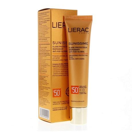 Lierac Sunissime Fluido Viso SPF50+ Protettivo Energizzante Antiage 40 ml - Farmastar.it