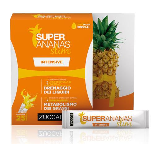 Zuccari Super Ananas Slim Intensive Drenaggio Liquidi 250 ml - latuafarmaciaonline.it