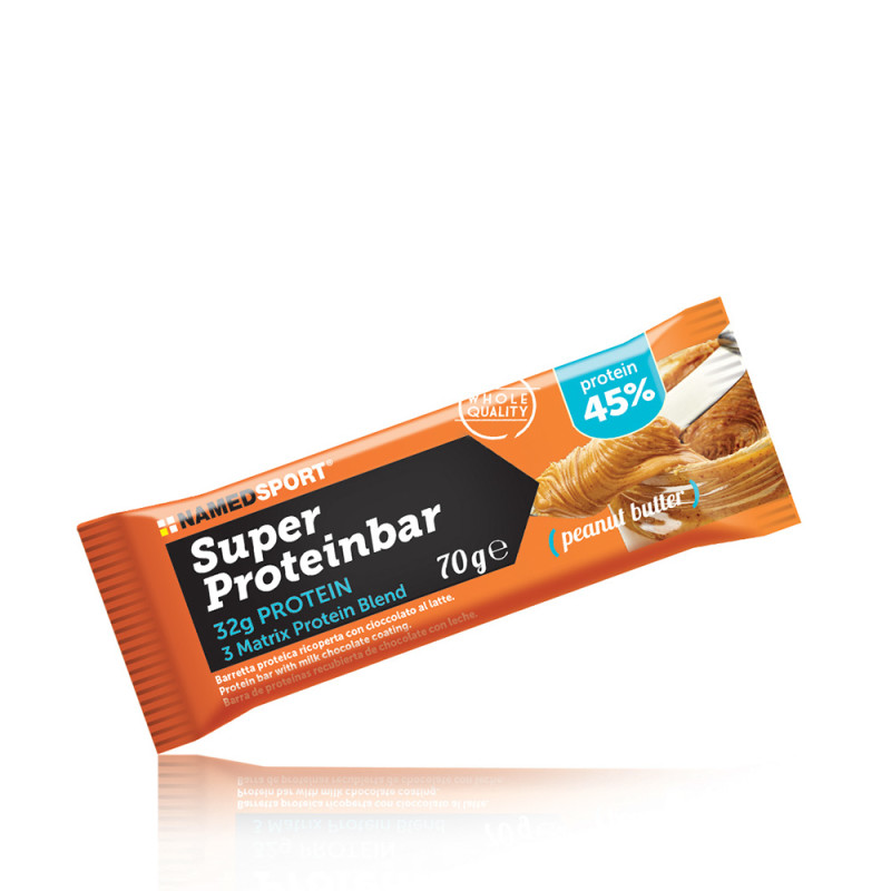 SUPERPROTEINBAR PEANUTS BUTTER 70 G - Farmawing
