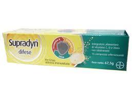 SUPRADYN DIFESE 15 COMPRESSE EFFERVESCENTI - Farmagolden.it