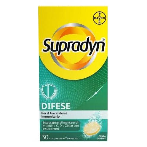 SUPRADYN DIFESE 30 COMPRESSE EFFERVESCENTI - Farmacianuova.eu