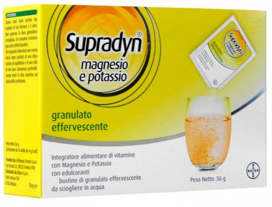 SUPRADYN MAGNESIO/POTASSIO 24 BUSTINE - Farmacia Centrale Dr. Monteleone Adriano