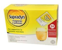 SUPRADYN MAGNESIO/POTASSIO 24 BUSTINE - Farmaciacarpediem.it