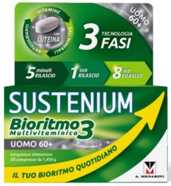 SUSTENIUM BIORITMO3 UOMO 60+ 30 COMPRESSE - Farmacia Centrale Dr. Monteleone Adriano