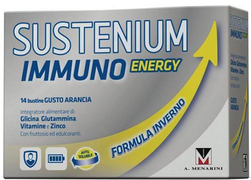 SUSTENIUM IMMUNO ENERGY 14 BUSTINE DA 4,5 G - Farmacia Centrale Dr. Monteleone Adriano