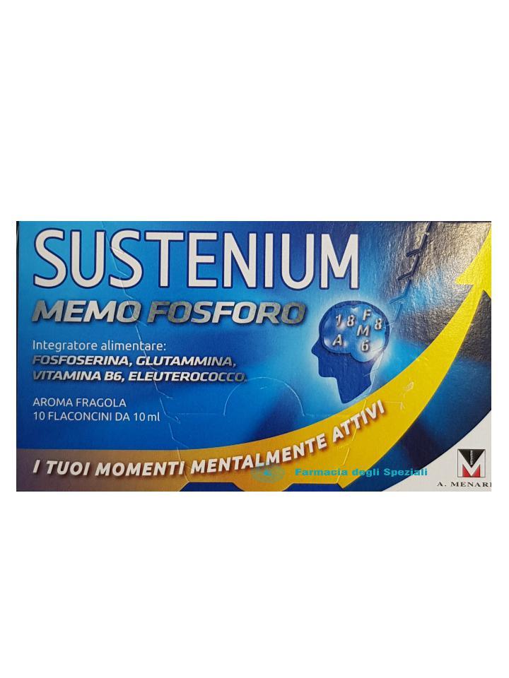 SUSTENIUM MEMO FOSFORO 10 FLACONCINI 10 ML - farmaciadeglispeziali.it