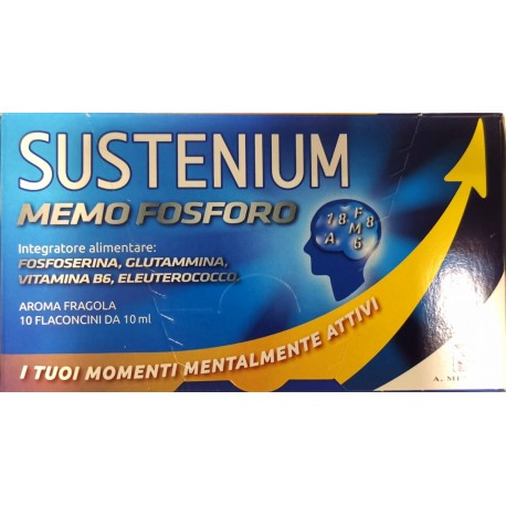 SUSTENIUM MEMO FOSFORO 10 FLACONCINI 10 ML - Farmastar.it