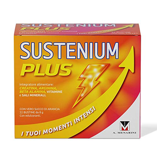SUSTENIUM PLUS 22 BUSTINE 176 G MENARINI - Farmastar.it