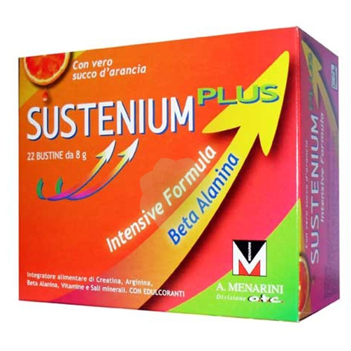 Sustenium Plus Intensive Formula Integratore Alimentare 22 Bustine - Zfarmacia