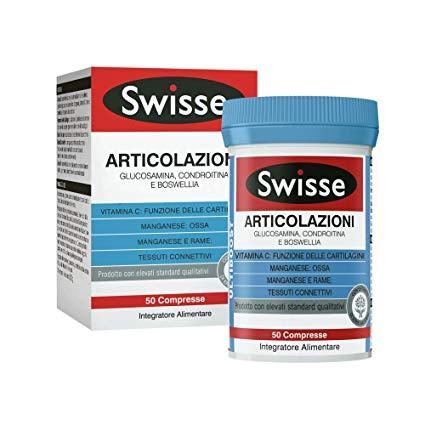 SWISSE ARTICOLAZIONI 50 COMPRESSE - Farmafamily.it
