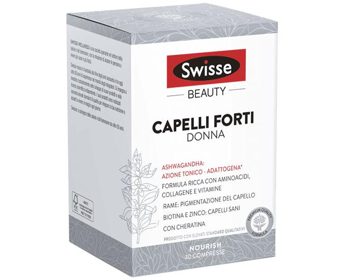 SWISSE CAPELLI FORTI DONNA 30 COMPRESSE - Farmacielo