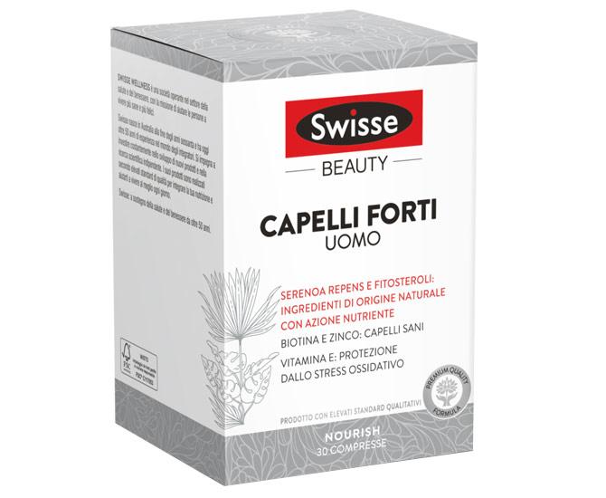 SWISSE CAPELLI FORTI UOMO 30 COMPRESSE - Farmacielo