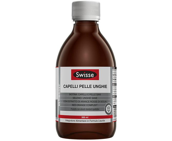 SWISSE CAPELLI PELLE UNGHIE FORMULA LIQUIDA 300 ML - Farmacielo