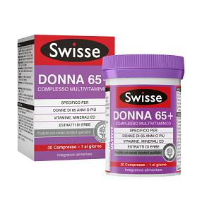 SWISSE DONNA 65+ COMPLESSO MULTIVITAMINICO 30 COMPRESSE aaaaa - Zfarmacia