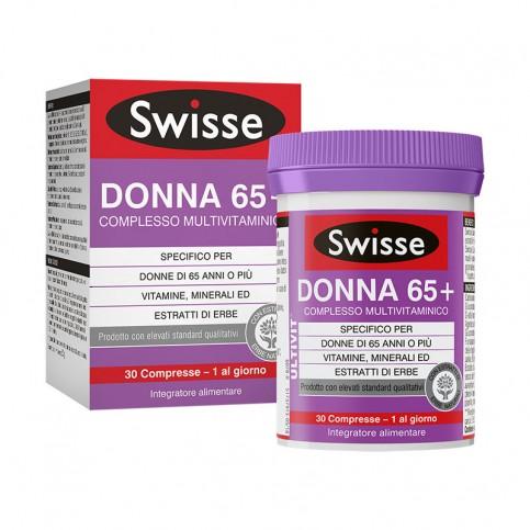 SWISSE DONNA 65+ COMPLESSO MULTIVITAMINICO 30 COMPRESSE - latuafarmaciaonline.it