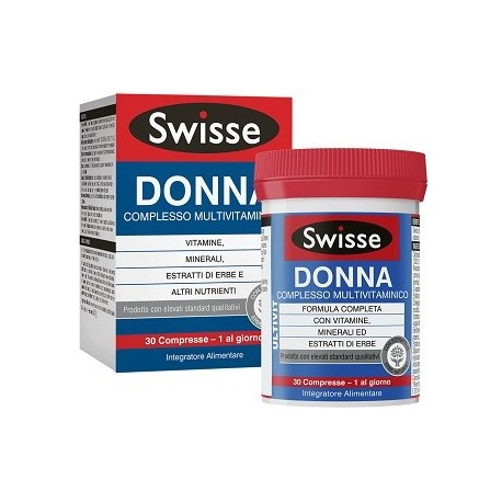SWISSE DONNA MULTIVITAMINICO 30 COMPRESSE - Iltuobenessereonline.it