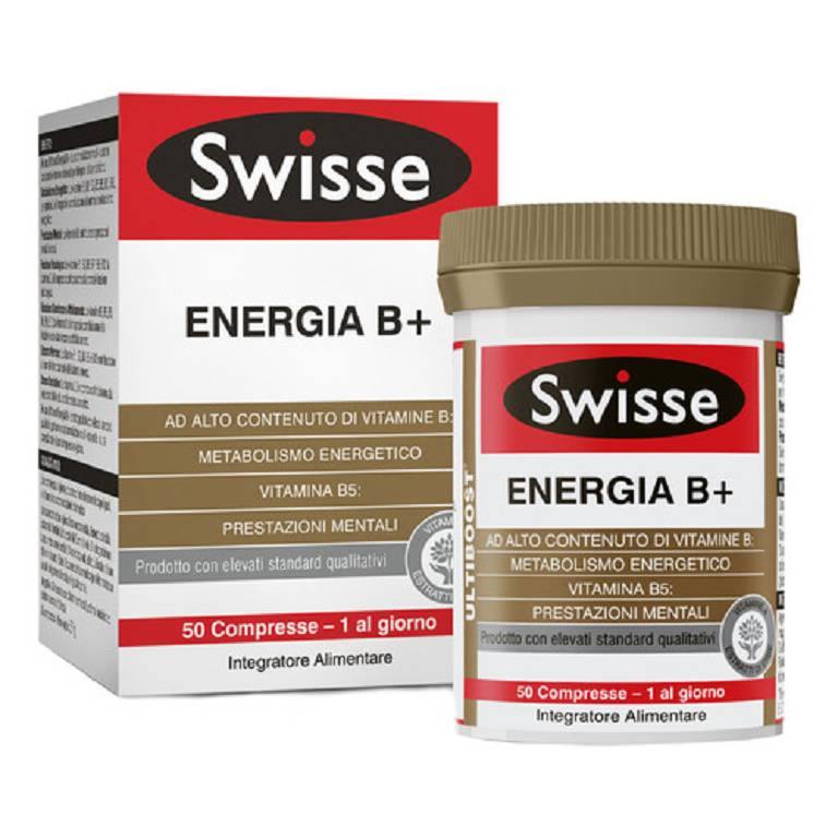 SWISSE ENERGIA B+  50 COMPRESSE - Iltuobenessereonline.it