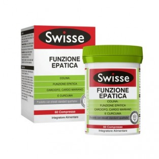 SWISSE FUNZIONE EPATICA 60 COMPRESSE - pharmaluna