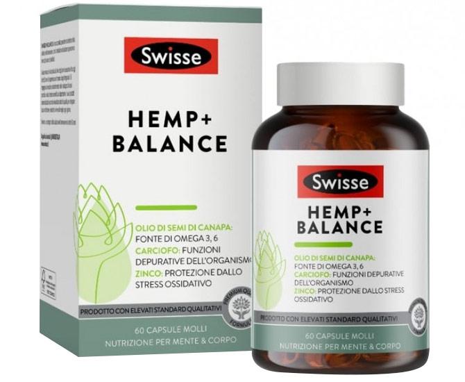 SWISSE HEMP+ BALANCE 60 CAPSULE - Farmacielo