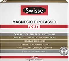 SWISSE MAGNESIO POTASSIO FORTE 24 BUSTINE - Zfarmacia