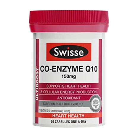 SWISSE MAXI COENZIMA Q10 200 MG 30 CAPSULE - FARMAPRIME