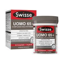 SWISSE UOMO 65+ COMPLESSO MULTIVITAMINICO 30 COMPRESSE - pharmaluna