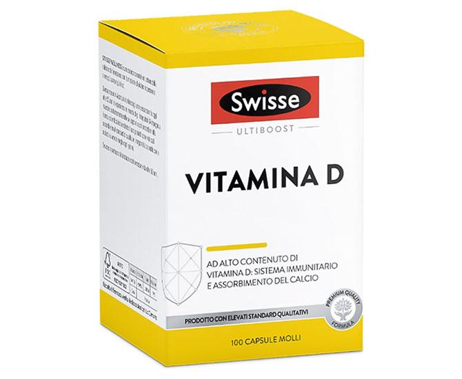 SWISSE VITAMINA D 100 CAPSULE MOLLI - Farmacielo