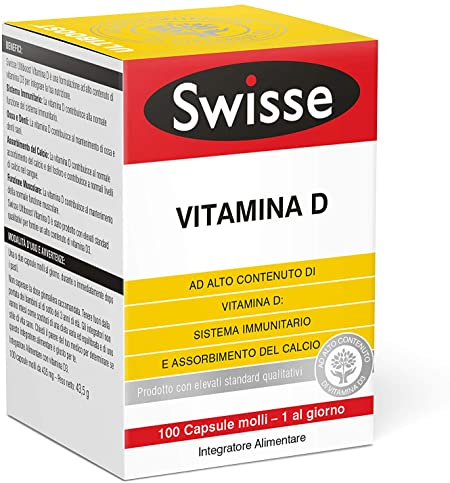 SWISSE VITAMINA D3 100 CAPSULE - Farmafamily.it
