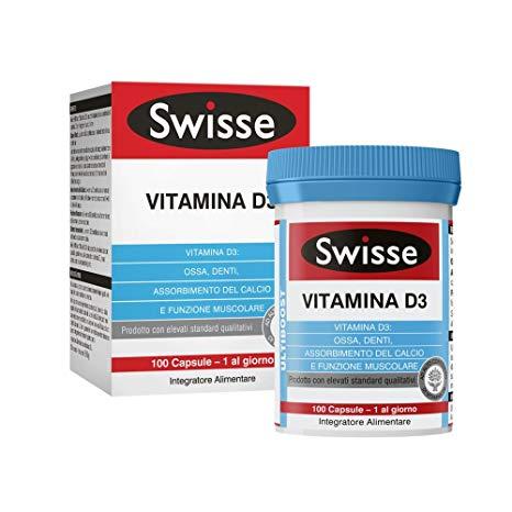 SWISSE VITAMINA D3  100 COMPRESSE - Iltuobenessereonline.it