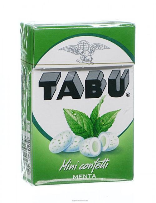 Tabu Mini Confetti Menta 38g - Sempredisponibile.it