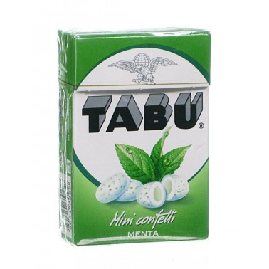 TABU MINI CONFETTI MENTA HD 38 G - Farmaciasconti.it