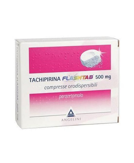 TACHIPIRINA FLASHTAB 500mg  16 Compresse - Farmapage.it