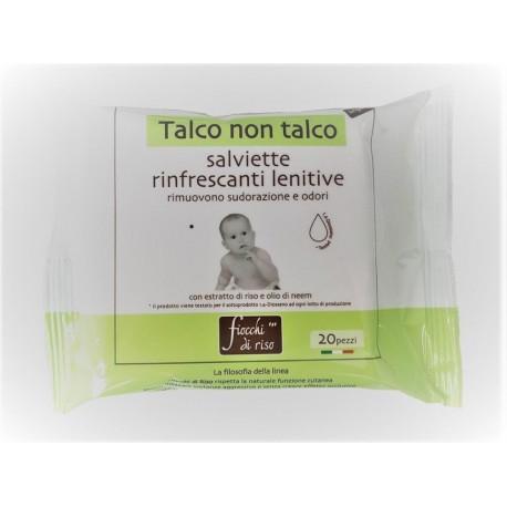 TALCO NON TALCO WIPES FDR - Parafarmacia la Fattoria della Salute S.n.c. di Delfini Dott.ssa Giulia e Marra Dott.ssa Michela