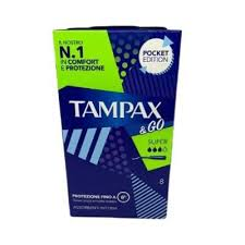 TAMPAX&GO SUPER 8 PEZZI - FarmaHub.it