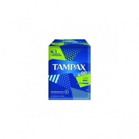 TAMPAX&GO SUPER 8 PEZZI - FARMAPRIME
