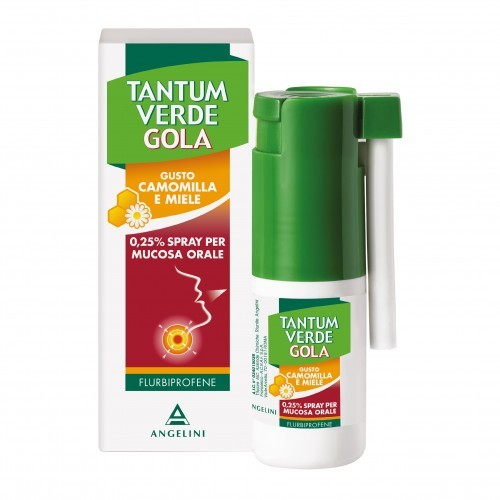 TANTUM VERDE GOLA*SPR 15ML  gusto camomilla / miele - Farmafamily.it