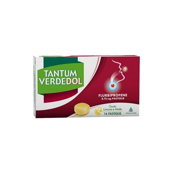 Tantum VerdeDol*16 Pastiglie al Gusto Limone e Miele - latuafarmaciaonline.it