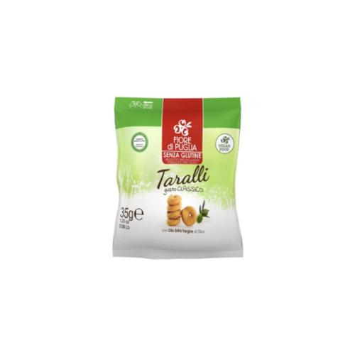 Taralli senza Glutine Fiore di Puglia 35g - Arcafarma.it