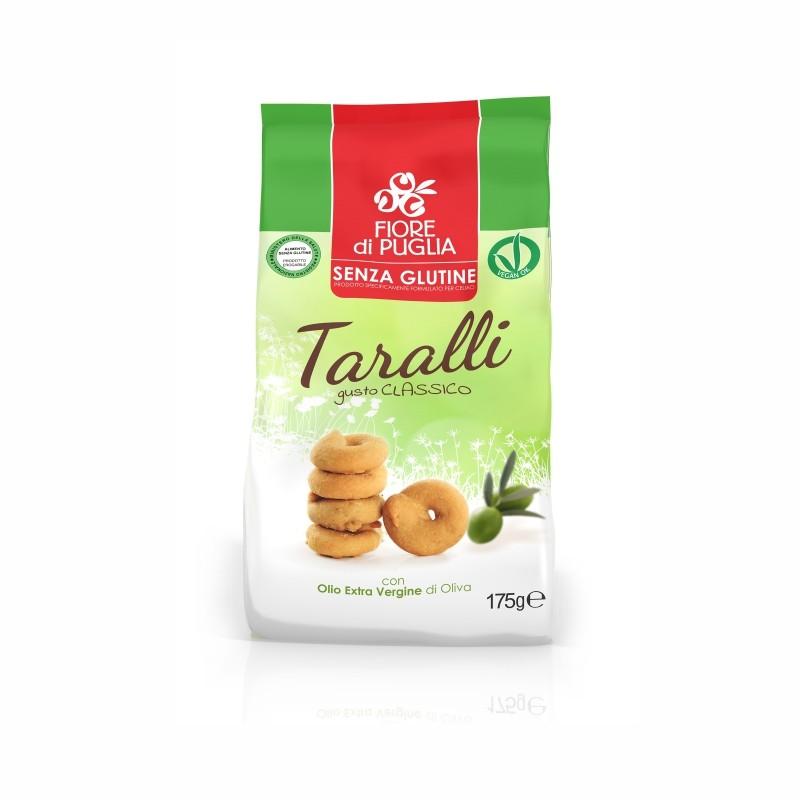 Taralli senza Glutine Gusto Classico Fiore di Puglia 175g - Arcafarma.it